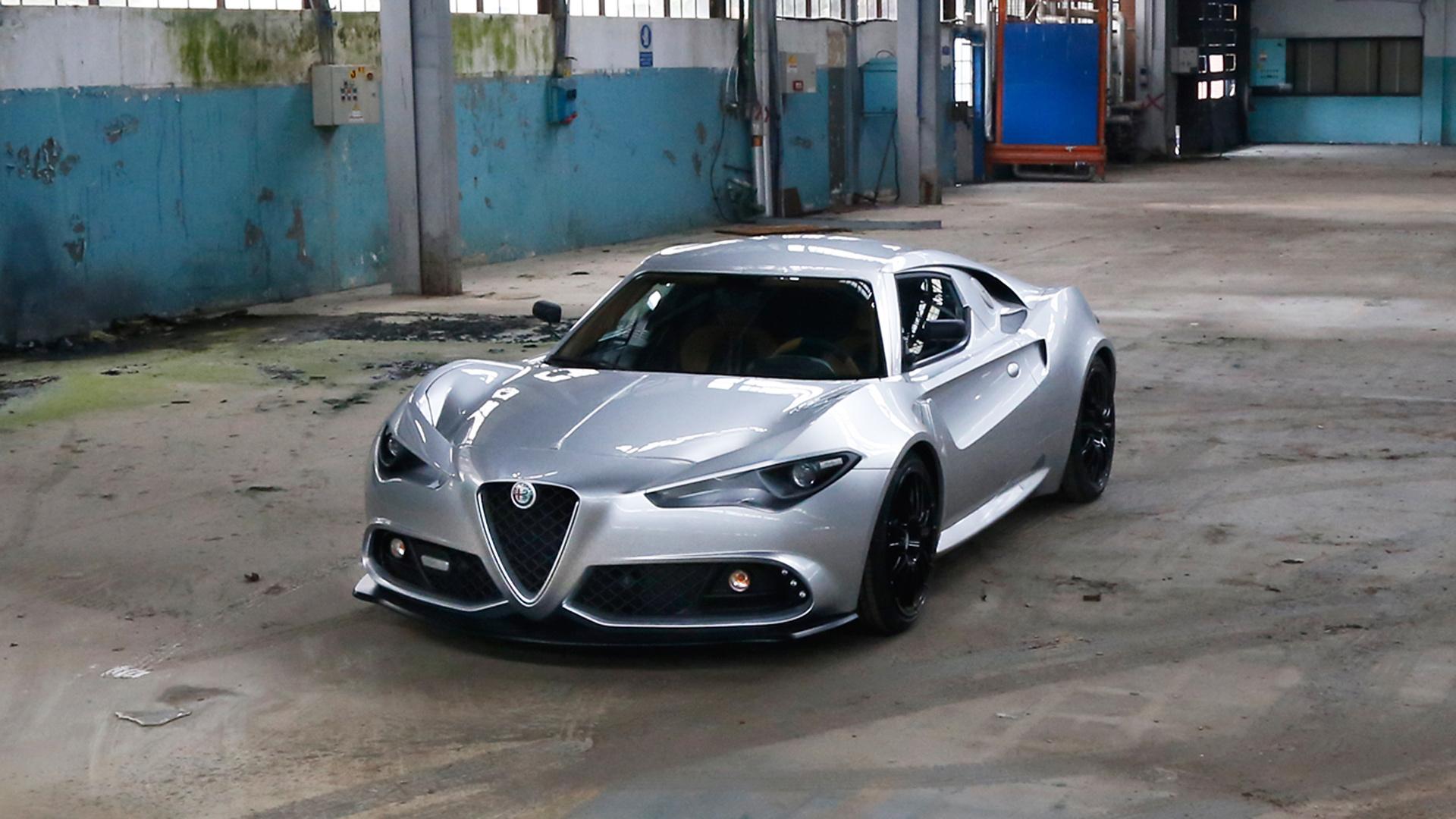 Alfa Romeo 4C tak trochu jinak inspiruje se snad automobilka viz