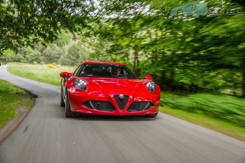 Fascinace Alfa Romeo 4C