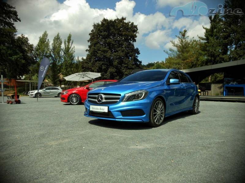 První jízda: Mercedes-Benz třídy A