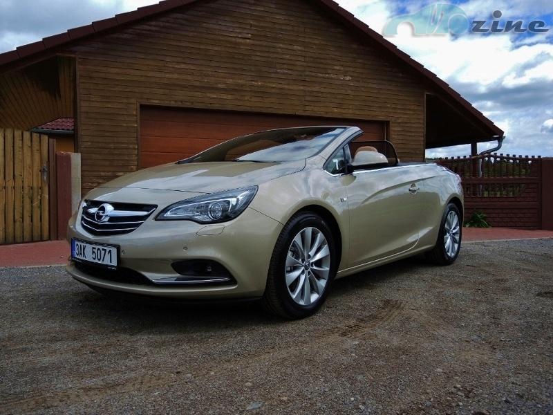 První jízda - Opel Cascada 1,6 SIDI Turbo ECOTEC Cosmo