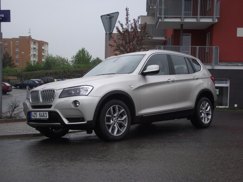 TEST BMW X3 xDrive 30d - Jízda pánů