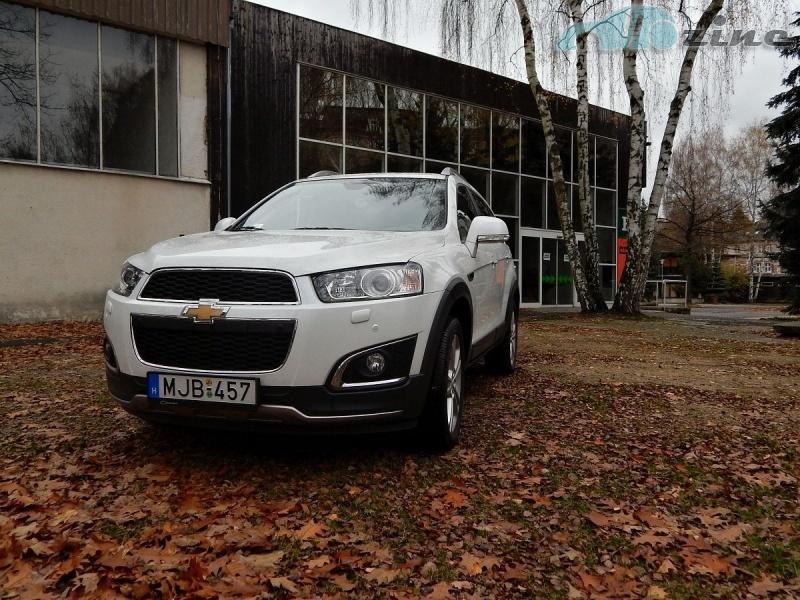 TEST Chevrolet Captiva 2,2 D AWD LTZ - Rodinný výletník