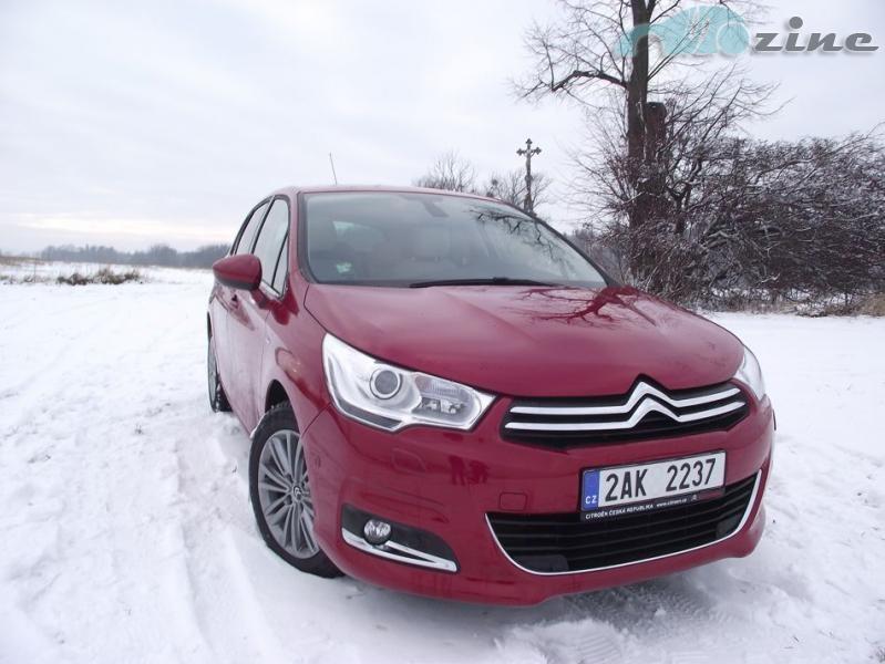 TEST Citroën C4 1,6 HDi Exclusive - Překvapivě solidní