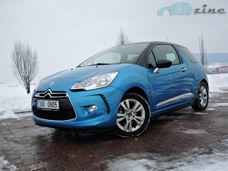 TEST Citroën DS3 1,4 VTI Young & Wild
