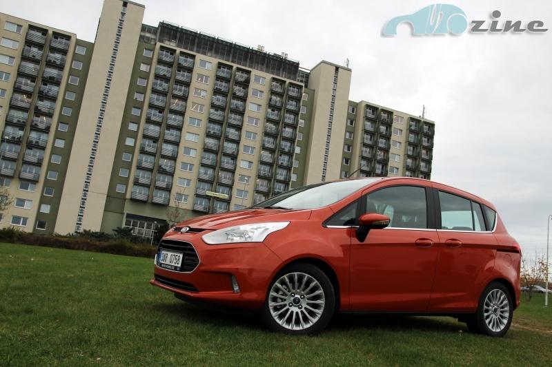 TEST Ford B-Max 1.0 EcoBoost 100k Titanium - Překvapivý šikula