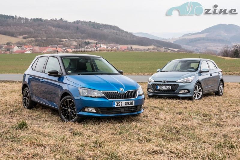 TEST Hyundai i20 1.4 CRDi vs. Škoda Fabia 1.4 TDI - Kdo že je taakhle maličky