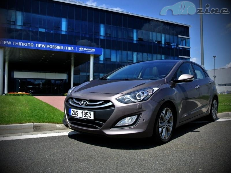 TEST Hyundai i30 1,6 CRDi AT - Klenot z Nošovic