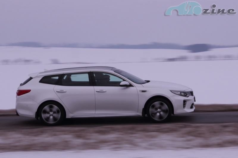 TEST Kia Optima SW GT-Line 1.7 CRDi