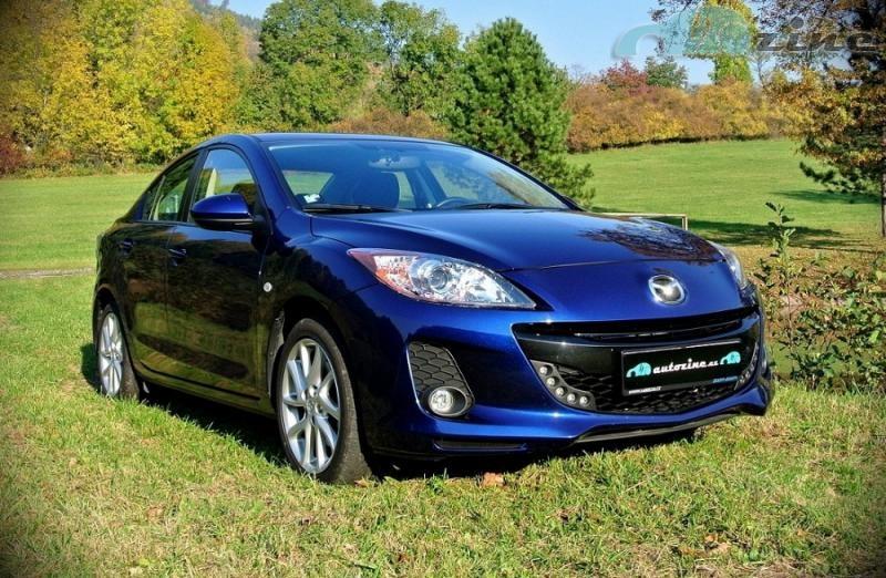 Test Mazda 3 2,0i i-stop - recenze Mazdy 3