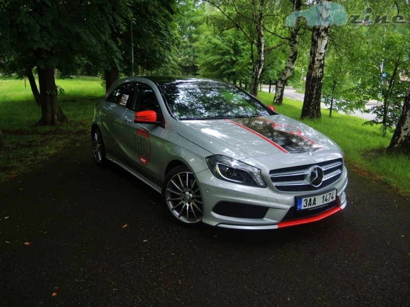 TEST Mercedes-Benz A 250 - GTI po krku