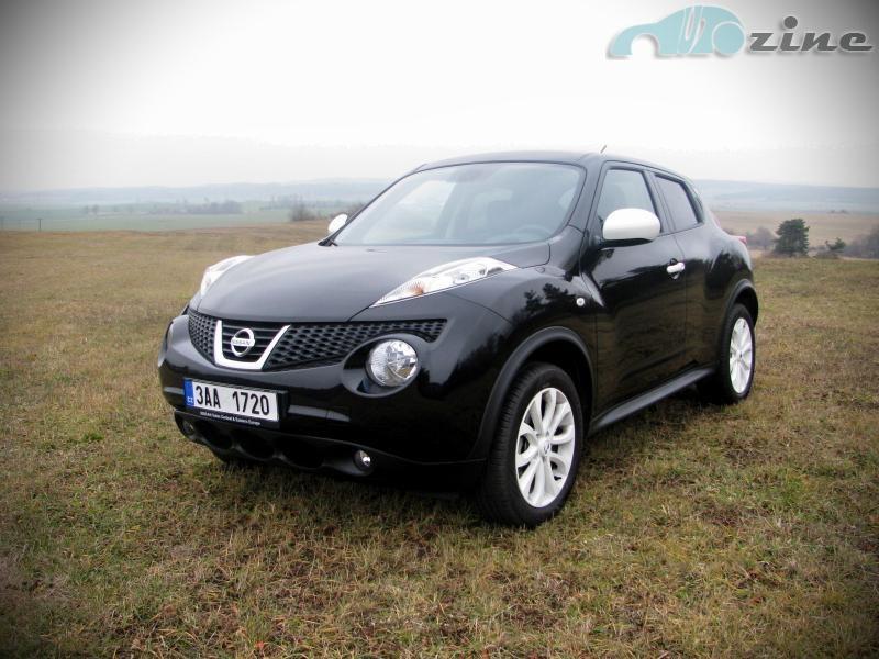 TEST Nissan Juke 1.6i Ministry of Sound -