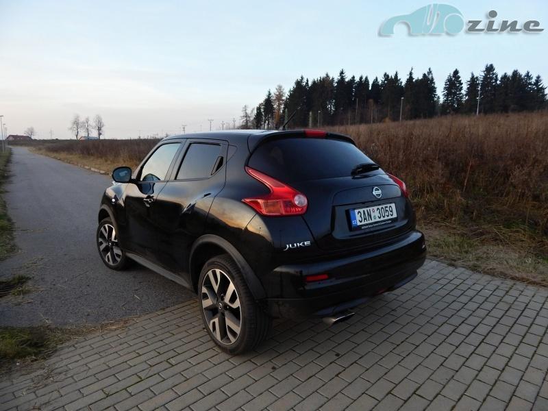 TEST Nissan Juke n-tec 1.6 DIG-T 190k - Ostrý klaun