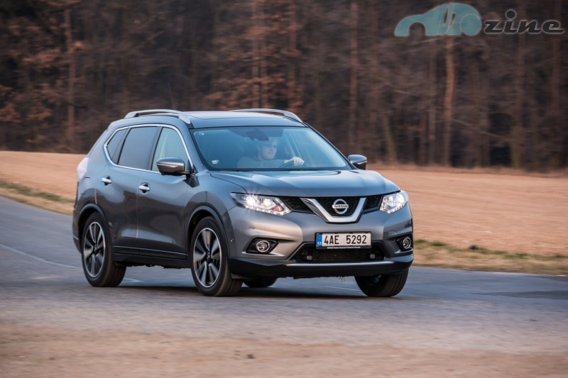 TEST Nissan X-Trail 1.6 dCi 4x4 Tekna - Horal na dietě