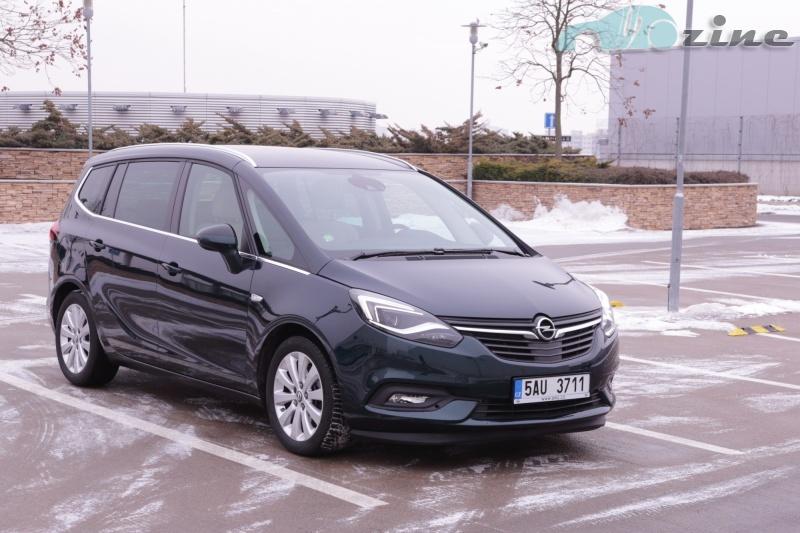TEST Opel Zafira 2.0 CDTI
