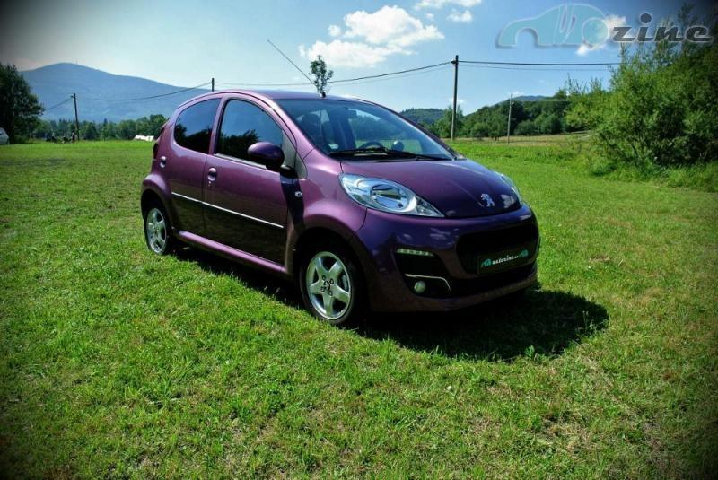 TEST Peugeot 107 1,0 12V Active: Bublifuk plný překvapení