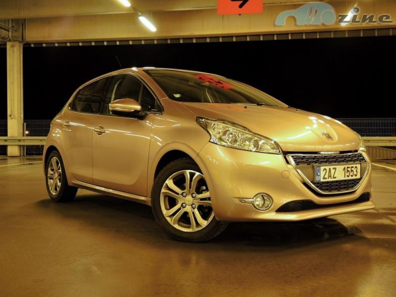 TEST Peugeot 208 5D 1.2 - Francouzský elegán