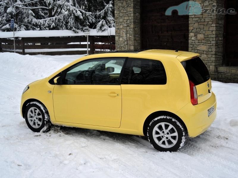 TEST Škoda Citigo Elegance - Namydlený blesk