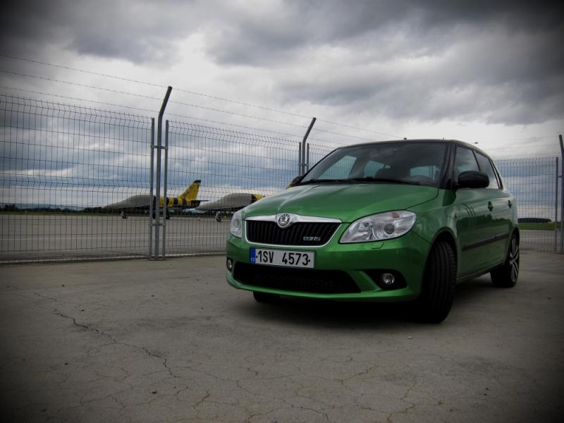 TEST Škoda Fabia RS - Rychlý Sluha