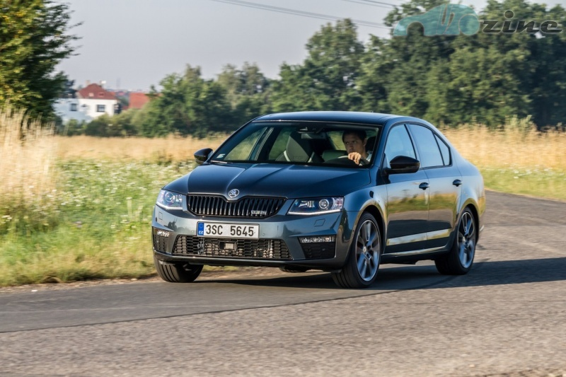 TEST Škoda Octavia RS 2.0 TSI