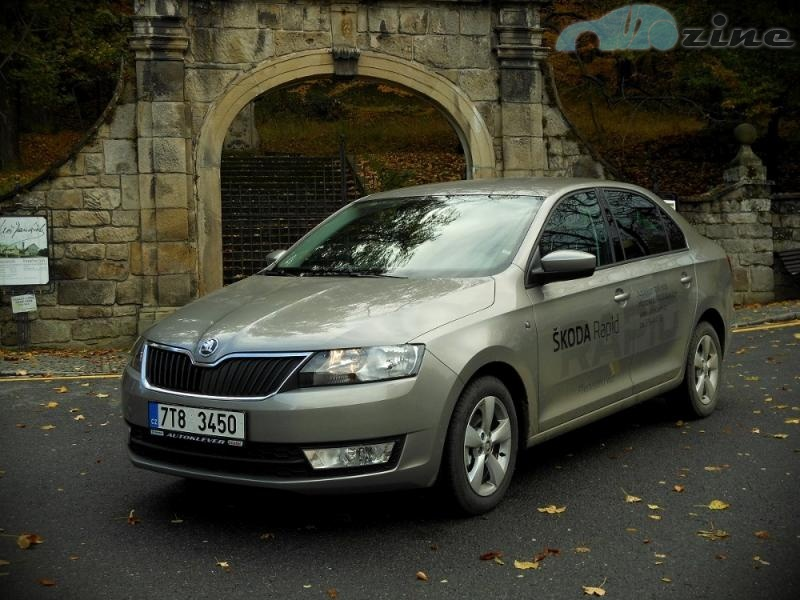Test Škoda Rapid 1,2 TSI Ambition
