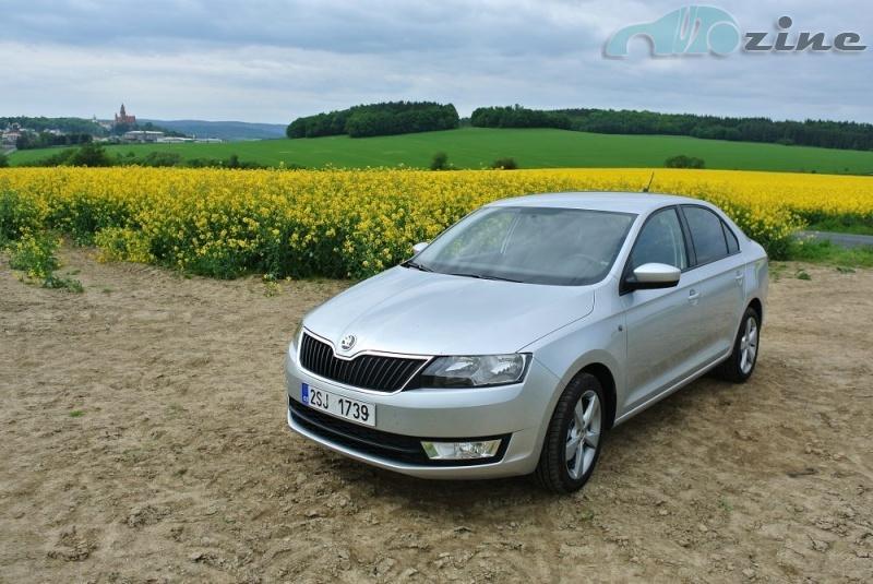 TEST Škoda Rapid 1,6 TDI - Svižný šetřílek