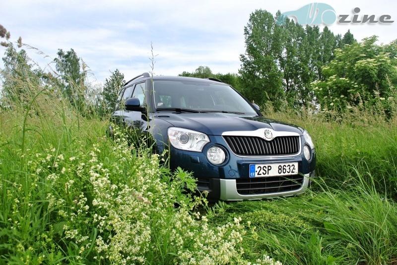 TEST Škoda Yeti 2,0 TDI 4x4 DSG - Cesta z města