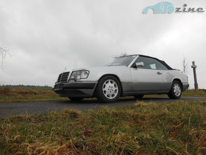 TEST Mercedes-Benz W124 Cabriolet