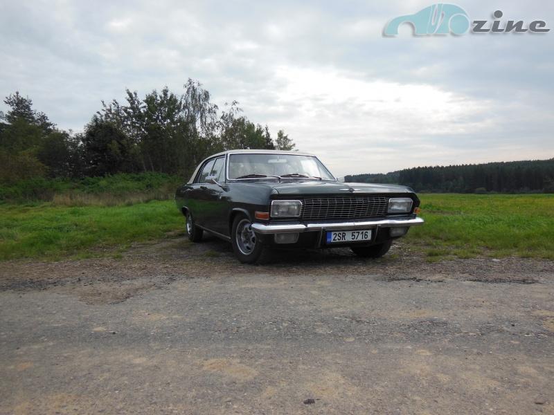TEST Opel Diplomat V8