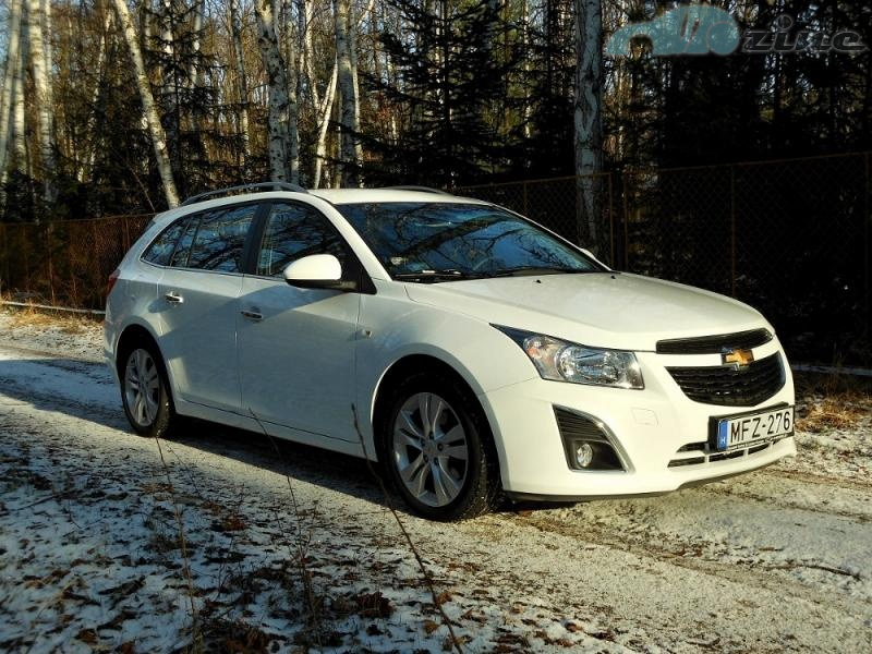 Test Chevrolet Cruze Sw 20 Vcdi Lep Ne Jsme Ekali Autozine